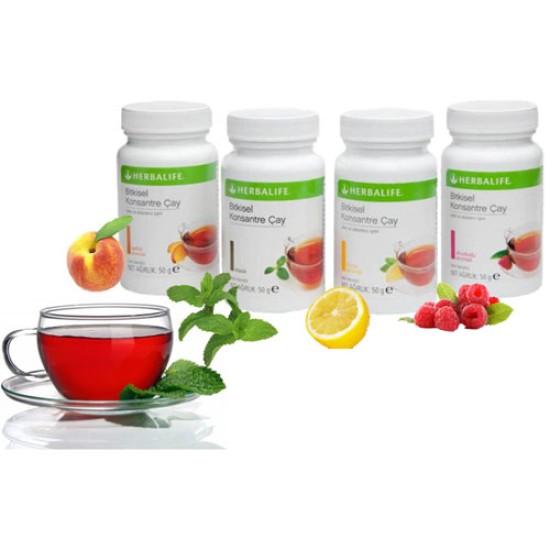 Herbalife Bitkisel Konsantre Çay - 50 gr Şeftali Aromalı