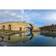 Malabadi Bridge 100x70cm canvas table