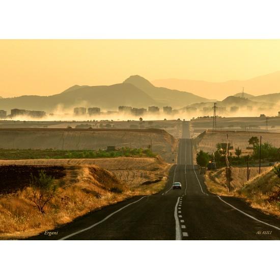 Diyarbakir - Ergani road view