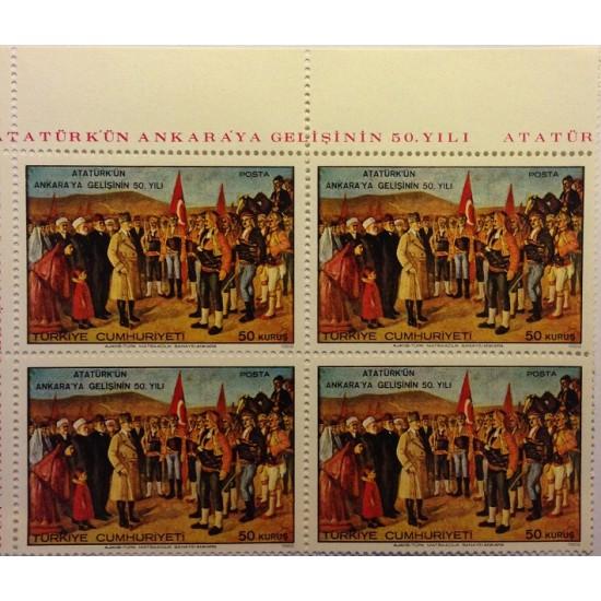 50th Anniversary of Ataturk's Arrival in Ankara