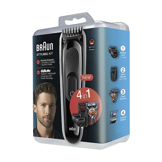 Braun Sk3000 Erkek Bakım Seti + Gillette Proglide Hediyeli