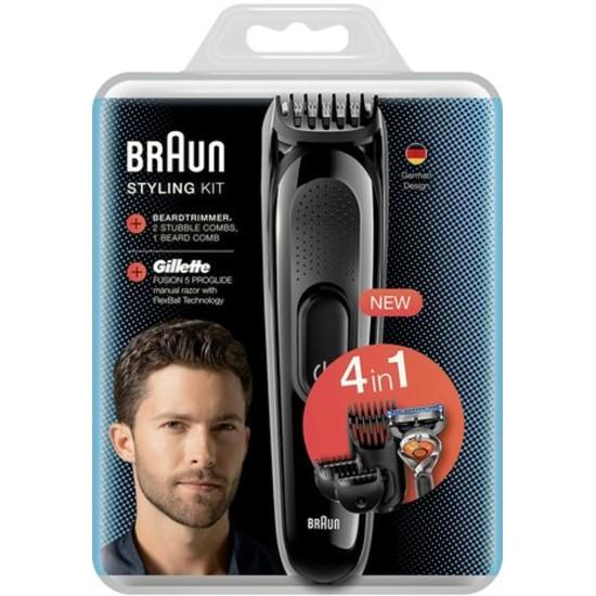 Braun Sk3000 Men's Care Kit + Gillette Proglide Gifted