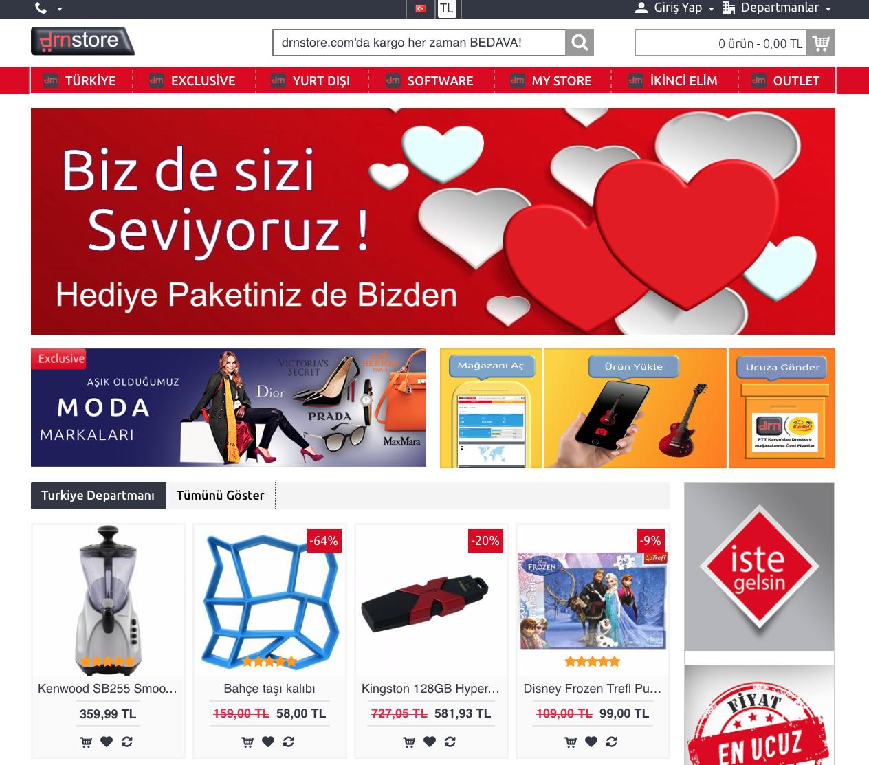 online alışveriş sitesi