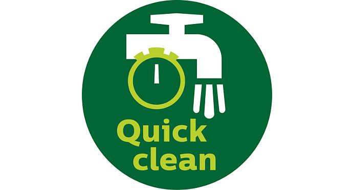 QuickClean teknolojisi